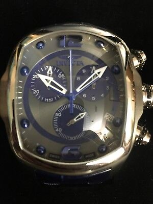 Invicta Lupah watch Blue face/band