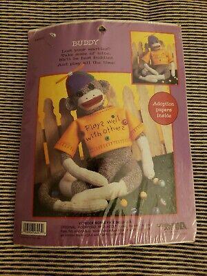 Leisure Arts Sock Monkey Kit BUDDY - Sock Monkey Kit