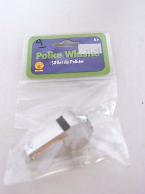 Police Whistle Costume Accessory Dog Training Safety Halloween Trick Or Treat ](Police Halloween Safety)