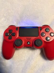 PS4 red gaming controller