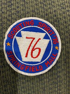 1976 Scouting Spirit Springfield Mall Boy Scout Patch (Spring Field Mall)