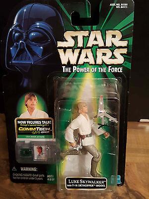 Star Wars POTF2 Luke Skywalker mit T16 , OVP