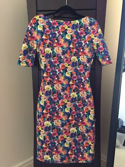 ZARA Print Dress (Size S - M) Churchlands Stirling Area Preview