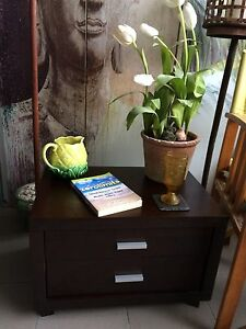 Magnificent WENGE side table. Cost $499 sell $180 Nerang Gold Coast West Preview