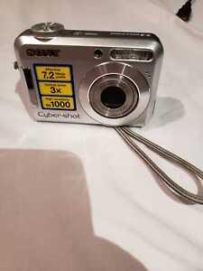 Used Sony Cybershot 7.2MP Digital Camera