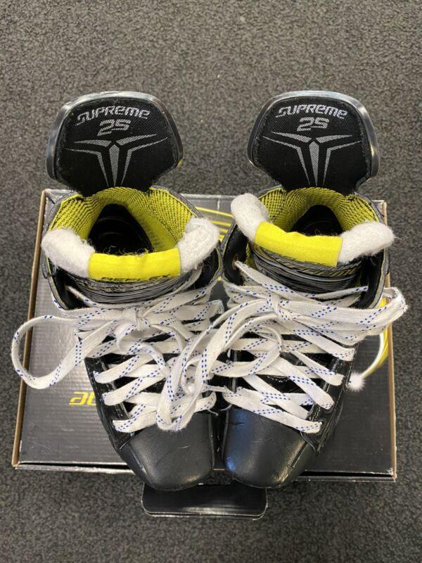 Bauer Supreme 2S Junior Hockey Skates Size 1.5 EE 1 1/2 Excellent Condition