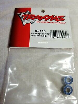 Bearings Blue Shield - TRAXXAS 5116 BALL BEARINGS BLUE RUBBER SHIELD  (6×11×4 MM)(2)