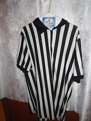 MEN'S REFEREE HALLOWEEN COSTUME-SIZE LARGE