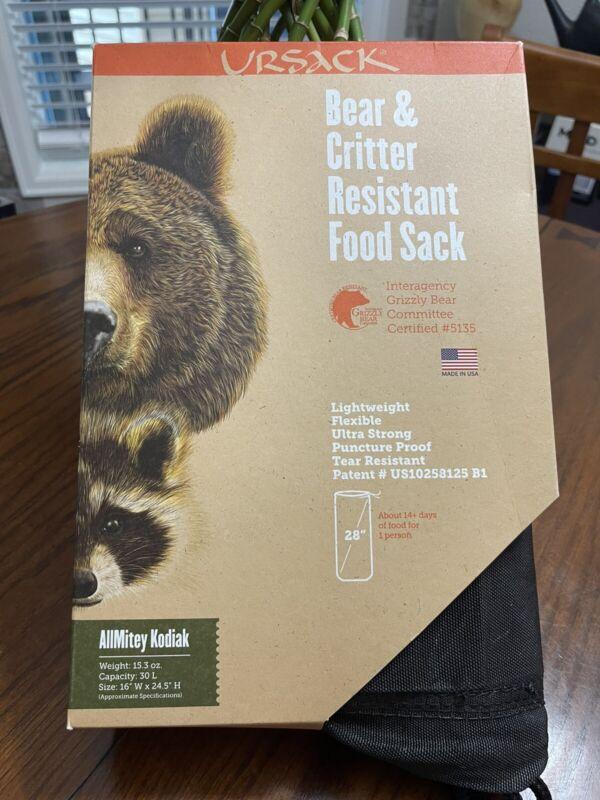 Ursack AllMitey Grizzly Bear & Critter Resistant 30L Food Sack $220