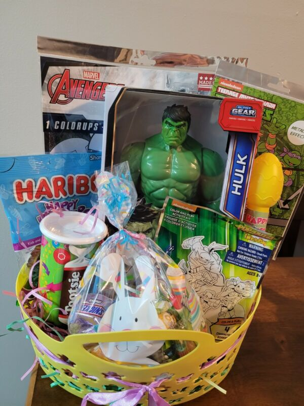 Happy Easter pre-Filled Baskets for Boys 4+