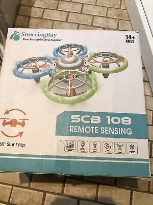 Sourcingbay Drone for Kids and Beginners - Mini Drones with LED Lights for