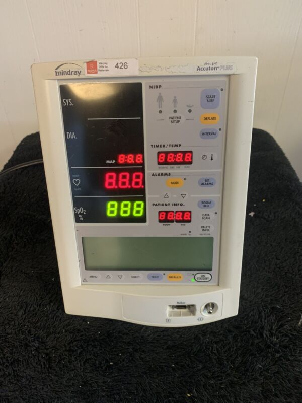 Mindray Datascope Accutorr Plus Patient Monitor