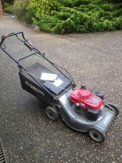 Honda HRU216 D Self Propelled Mower Picton Wollondilly Area Preview
