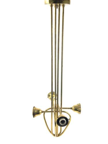 Vintage Brass Pendant Art Nouveau Ceiling Light Mackintosh Style