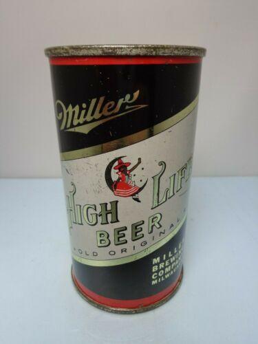 MILLER HIGH LIFE IRTP FLAT TOP BEER CAN #99-32   MILWAUKEE, WISCONSIN