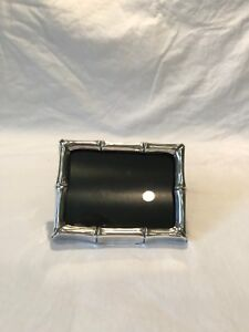 Vintage Sterling Silver Tiffany & Co. Bamboo Pattern Picture Frame