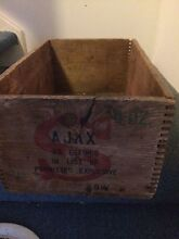 Vintage Wooden Crate Carrara Gold Coast City Preview