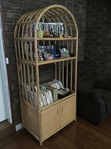 Bamboo bookcase Eden Hill Bassendean Area Preview
