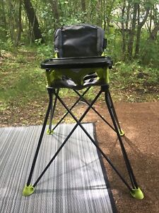 2 Folding High Chairs (would sell individually)