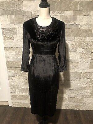 Ports 1961 Black Dress Sz 2 Womens