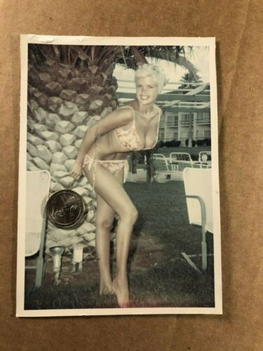 Jayne Mansfield Stunning Very Rare One of a Kind Candid Photo 1959
