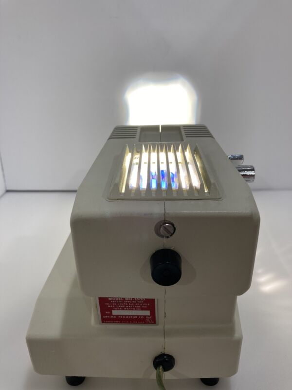 Vintage ASI Optima Filmstrip Projector Model MH-1500 Works Great Near Mint cond.