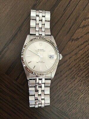 TUDOR Rolex OYSTER Date STEEL Vintage 1990 Bracelet MANS WRISTWATCH