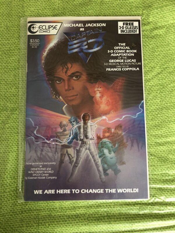 Eclipse Comics Michael Jackson As Captain VEO