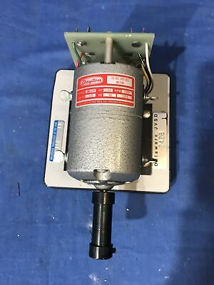 Dayton Model No. 2m033a 115 Hp Motor Generator Free Shipping
