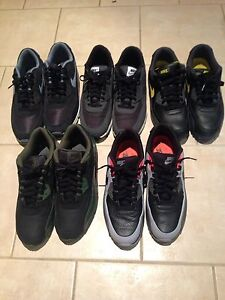 Nike Air Max 90s lot of 5 size 10.5-11.5