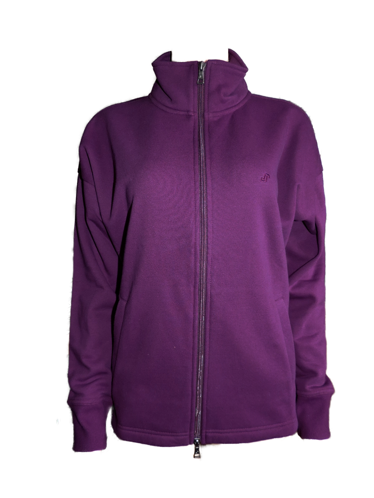 Joy Damen Sweatjacke Sportjacke Freizeitjacke Kerstin Grape Sun Gr. 38