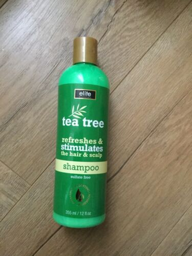 Elite Essentials Tea Tree Oil Shampoo  12 Oz ea. Sulfate fre