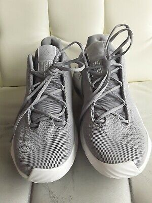 Adidas Men's Pro Bounce Low Basketball Shoes Size 12 Gray Onix AH2676 New