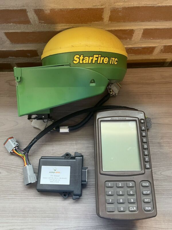 Complete John Deere Greenstar Starfire Autosteer System with AGRA GPS iTC Extend
