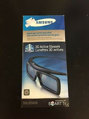 Samsung 3D Glasses SSG-3100GB Lunettes Actives Movies Smart TV Accessory