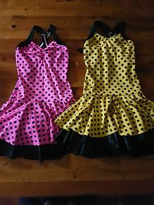 Polka Dot Jazz Dance Costumes Eden Hill Bassendean Area Preview