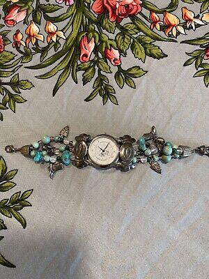 Women's Watch jewelry bracelets 925 W/Semi-Precious Stones South Western Design