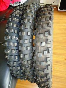 "3 x 21"" motorbike tyres (Dunlop 606, Pirelli Scorpion Rally) West Lakes Shore Charles Sturt Area Preview"