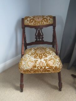 Antique Victorian Occasional Chair East Maitland