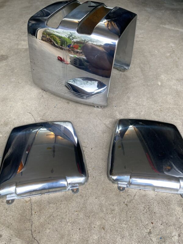 Vintage Sunbeam toaster T-20 A,B,C chrome shell and end pieces