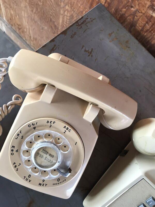 Western Electric Rotary Phone Vtg 1964