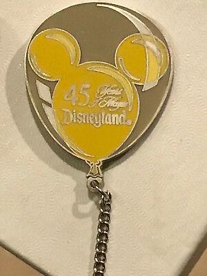 Authentic Disney 45 Years of Magic LE5000 Mickey Ear Balloon Pin Yellow 2406