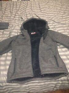 Bench jacket, bench sweater, misty mountain jacket