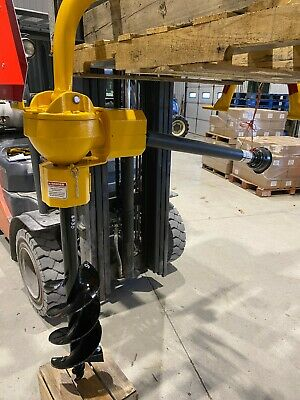 Danuser G2040 Post Hole Augur Digger Compact Tractor Cat 1 3pt Hitch