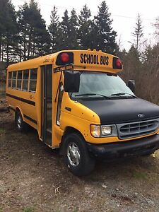 2001 Ford E-350 School Bus, Van, Camper