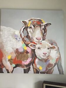 Fun sheep art