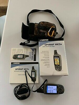 Garmin GPSMAP 60CSx Handheld GPS Navigator Bundle with Carrying Case