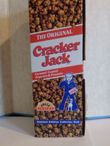 Cracker Jack Limited Edition Collector Doll  1886-1996 100th Anniversary