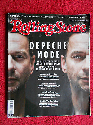 - ROLLING STONE MAGAZINE 114/2013 Depeche Mode Flaming Lips Gianna Nannini No cd