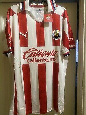 Chivas Home Jersey 2020-2021 Camisa Large Slim Fit